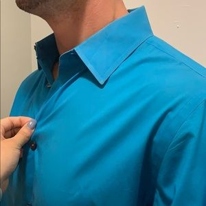 4🔥 for $20.Express Fitted stretch shirt